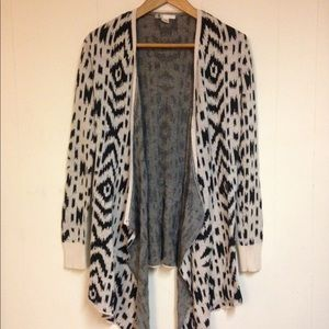 Volcom - Boho Light Knit Wrap Cardigan Sweater XS